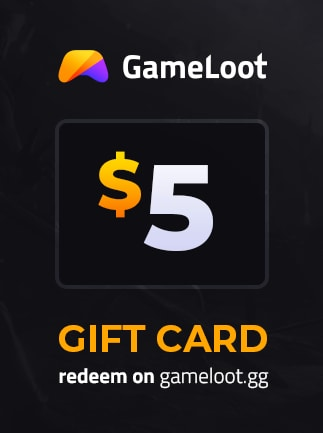 GameLoot Gift Card GameLoot GLOBAL Code 5 USD - 1