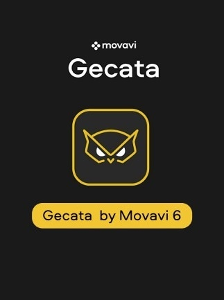 Gecata by Movavi 6 – Streaming and Game Recording Software (PC) - Steam Key - GLOBAL - 1
