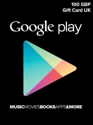 Google Play Gift Card 100 GBP UNITED KINGDOM - 1