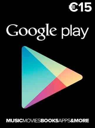 Google Play Gift Card 15 EUR EUROPE - 1
