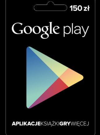 Google Play Gift Card 150 PLN POLAND - 1