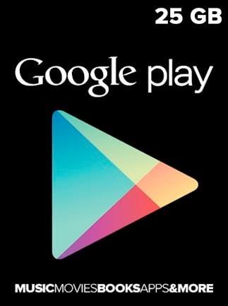 Google Play Gift Card 25 GBP UNITED KINGDOM - 1