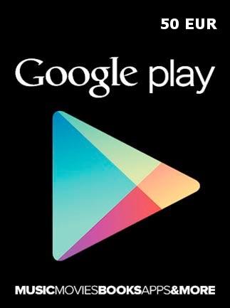 Google Play Gift Card 50 EUR EUROPE - 1