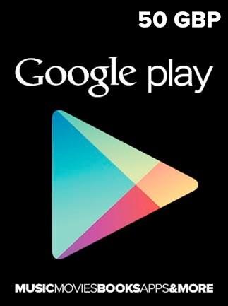 Google Play Gift Card 50 GBP UNITED KINGDOM - 1