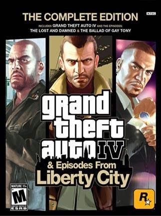 Grand Theft Auto IV Complete Edition Rockstar Key GLOBAL - 1