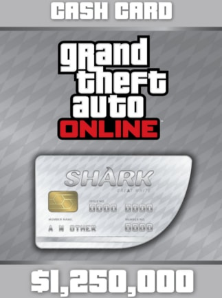 Grand Theft Auto Online: Great White Shark Cash Card 1 250 000 - PSN Key - GERMANY - 1