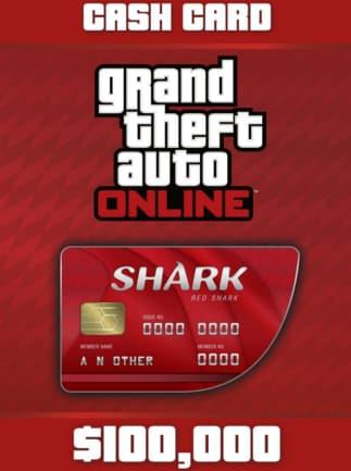 Grand Theft Auto Online: The Red Shark Cash Card 100 000 PC Rockstar Code GLOBAL - 1