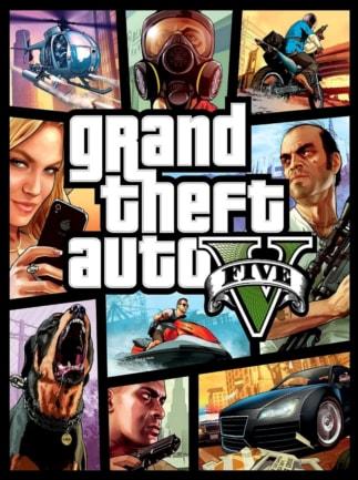 Grand Theft Auto V: Premium Online Edition & Whale Shark Card Bundle (PC) - Rockstar Key - GLOBAL - 1