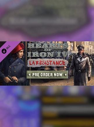 Hearts of Iron IV: La Résistance (PC) - Steam Key - GLOBAL - 1