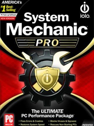 iolo System Mechanic Pro 5 Users 1 Year - iolo Key - GLOBAL - 1