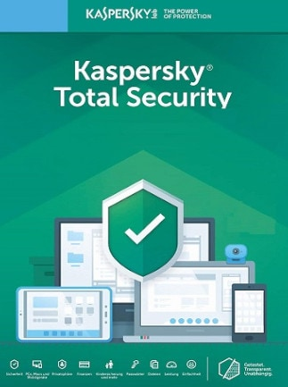 Kaspersky Total Security 2021 1 Device 1 Year Kaspersky GLOBAL - 1