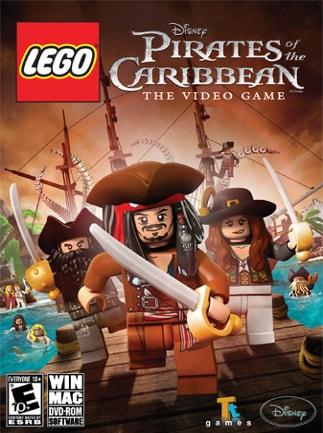 LEGO Pirates of the Caribbean (PC) - Steam Key - GLOBAL - 1