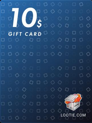 Lootie Gift Card 10 USD - Lootie Key - GLOBAL - 1