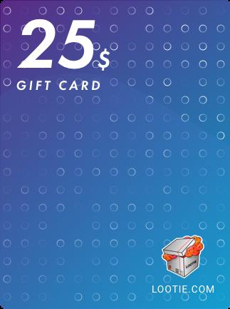 Lootie Gift Card 25 USD - Lootie Key - GLOBAL - 1