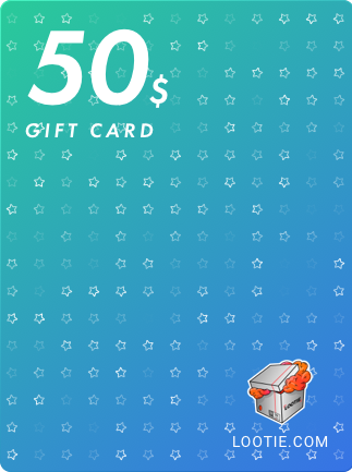 Lootie Gift Card 50 USD - Lootie Key - GLOBAL - 1