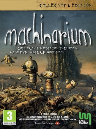 Machinarium Collector's Edition Steam Key GLOBAL - 1