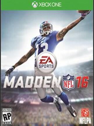 Madden NFL 16 XBOX LIVE Key XBOX ONE NORTH AMERICA - 1