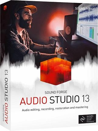 MAGIX SOUND FORGE Audio Studio 13 (PC) - Magix Key - GLOBAL - 1