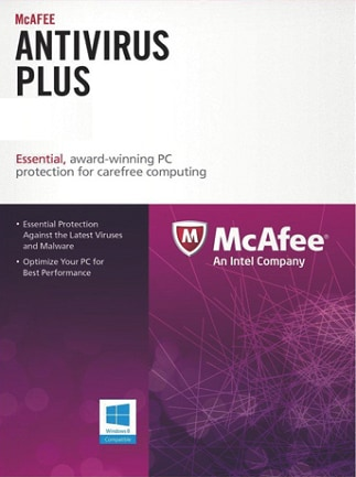 McAfee AntiVirus Plus PC 1 Device 1 Year Key GLOBAL - 2