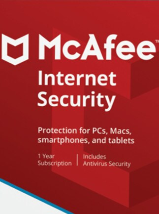 McAfee Internet Security 3 Devices 1 Year Key GLOBAL - 1