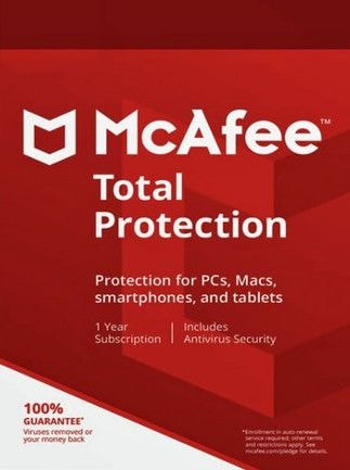 McAfee Total Protection Multidevice 1 Device 1 Year Key GLOBAL - 1