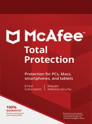 McAfee Total Protection Multidevice 1 Device 3 Years Key GLOBAL - 1