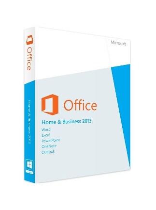 Microsoft Office Home & Business 2013 (PC) - Microsoft Key - GLOBAL - 1