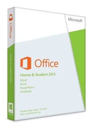 Microsoft Office Home & Student 2013 (PC) - Microsoft Key - GLOBAL - 1