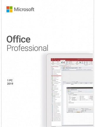 Microsoft Office Professional 2019 (PC) - Microsoft Key - GLOBAL - 1