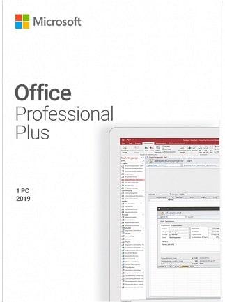 Microsoft Office Professional 2019 Plus 1 PC Microsoft Key GLOBAL - 1