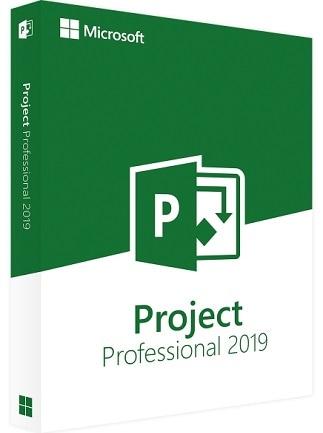 Microsoft Project 2019 Professional (PC) - Microsoft Key - GLOBAL - 1