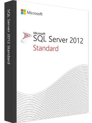 Microsoft SQL Server 2012 Standard (PC) - Microsoft Key - GLOBAL - 1