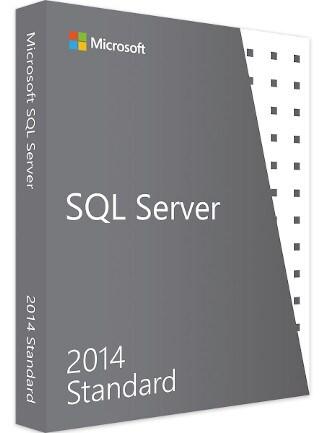 Microsoft SQL Server 2014 Standard (PC) - Microsoft Key - GLOBAL - 1