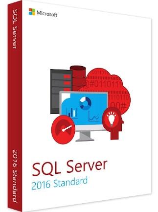 Microsoft SQL Server 2016 Standard (PC) - Microsoft Key - GLOBAL - 1