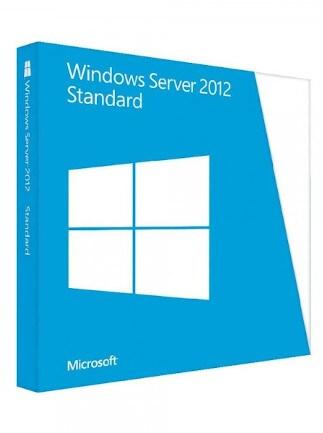 Microsoft Windows Server 2012 Standard (PC) - Microsoft Key - GLOBAL - 1