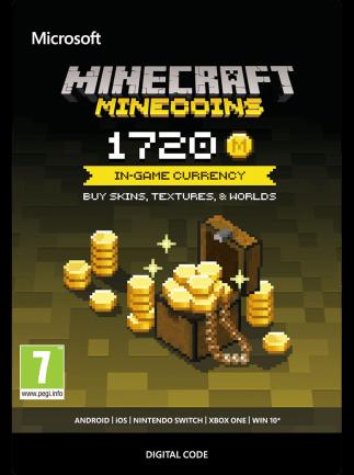 Minecraft: Minecoins Pack Minecraft GLOBAL 1 720 Coins - 1