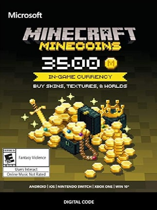 Minecraft: Minecoins Pack Xbox Live GLOBAL 3 500 Coins - 1