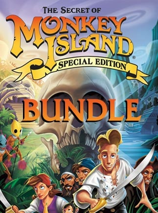 Monkey Island: Special Edition Bundle Steam Key GLOBAL - 1