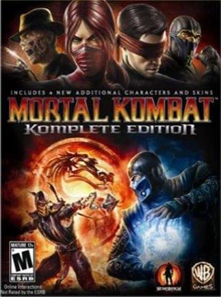 Mortal Kombat: Komplete Edition Steam Key GLOBAL - 1