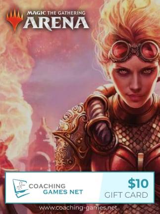 MTG Arena Coaching Gift Card Coaching-Games.net GLOBAL Key 10 USD - 1