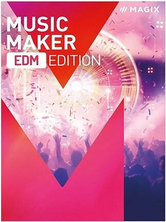 Music Maker EDM Edition + Voucher $10 (PC) - Magix Key - GLOBAL - 1