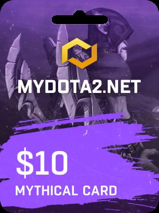 MYDOTA2.net Gift Card 10 USD - 1