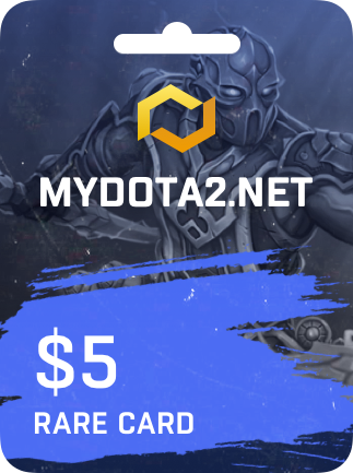MYDOTA2.net Gift Card 5 USD - 1