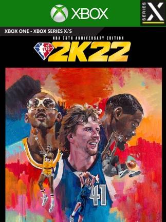 NBA 2K22 | 75th Anniversary Edition (Xbox Series X/S) - Xbox Live Key - UNITED STATES - 1