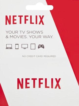 Netflix Gift Card 55.90 BRL - Netflix Key - BRAZIL - 1