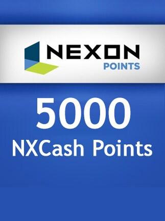 Nexon NXCash Points Game Card 5 000 Points Nexon EUROPE - 1