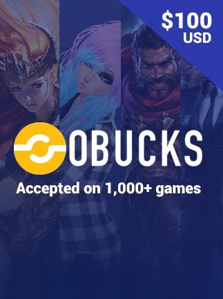 oBucks Gift Card 100 USD - oBucks Key - GLOBAL - 1