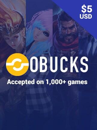oBucks Gift Card 5 USD - oBucks Key - GLOBAL - 1