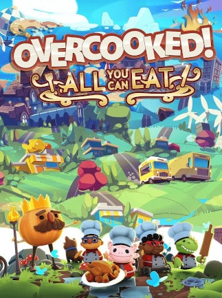 Overcooked! All You Can Eat (PC) - Steam Gift - GLOBAL - 1