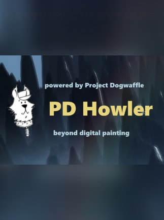 PD Howler 9.6 Digital Painter and Visual FX box Steam Key GLOBAL - 1